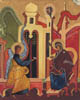 The Annunciation - 20cm x 25cm - oil on canvas