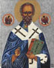 St Nicholas of Myra - 20cm x 25cm - oil on canvas