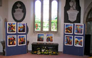 Exhibition in St. Mary's Church, Lydney, Gloucestershire - Easter 2009