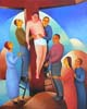 13.Jesus is taken down from the cross - 50cm x 40cm - oil on canvas